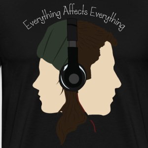 Everything Affects Everything - Men's Premium T-Shirt