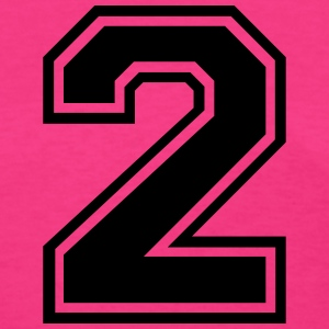 Number 2 Two T-Shirts - Women's T-Shirt