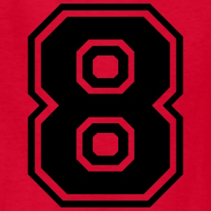 Number 8 Eight Kids' Shirts - Kids' T-Shirt