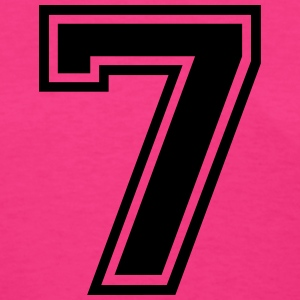 Number 7 Seven T-Shirts - Women's T-Shirt