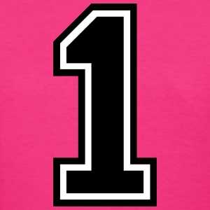 Number 1 One T-Shirts - Women's T-Shirt
