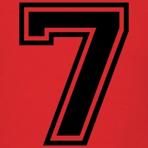 Number 7 Seven T-Shirts - Men's T-Shirt