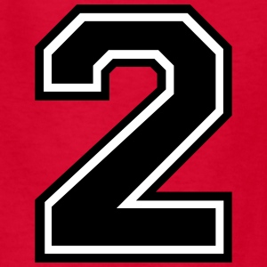Number 2 Two Kids' Shirts - Kids' T-Shirt