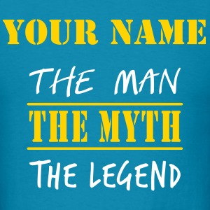 MAN MYTH LEGEND - Men's T-Shirt
