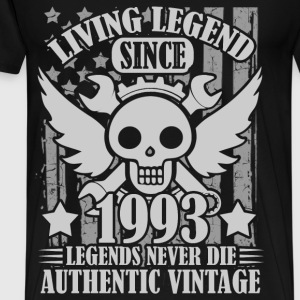 living 1993 1a.png T-Shirts - Men's Premium T-Shirt