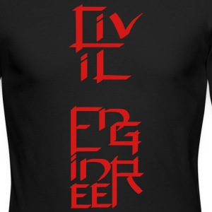 Civil Engineer Character Long Sleeve Shirts - Men's Long Sleeve T-Shirt by Next Level