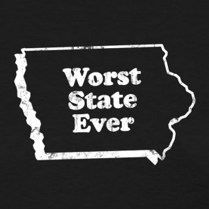 IOWA - WORST STATE EVER Women's T-Shirts - Women's T-Shirt