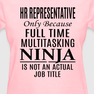 HR Representative - Women's T-Shirt
