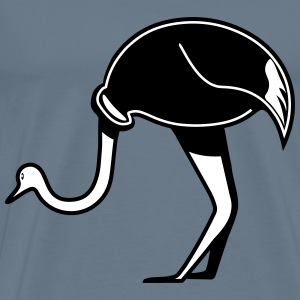 Strauss emu design stylized T-Shirts - Men's Premium T-Shirt