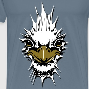 Strauss emu design T-Shirts - Men's Premium T-Shirt