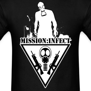 MISSION INFECT SOLDIER SHIRT - Men's T-Shirt