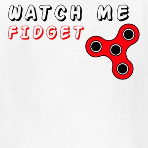 Watch Me Fidget Spinners Kid's  - Red - Kids' T-Shirt