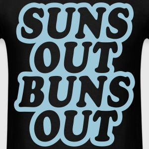 Suns Out Buns Out T-Shirts - Men's T-Shirt