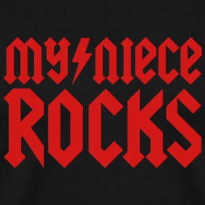 My niece rocks T-Shirts - Men's Premium T-Shirt