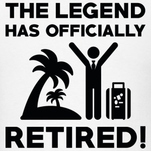 Officially Retired - Men's T-Shirt