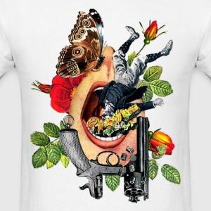 Open Mouth Art - Men's T-Shirt