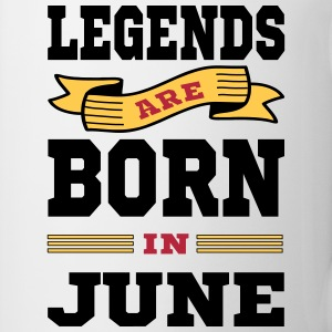 Legends Are Born In June Mugs & Drinkware - Coffee/Tea Mug