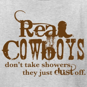 Real Cowboys Kids' Shirts - Kids' T-Shirt