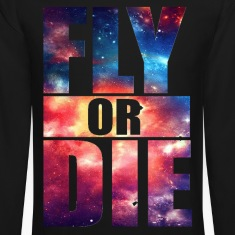 Fly or Die: Cosmic Hipster Space Cool Art Swag