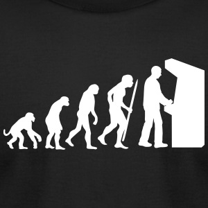 Evolution Arcade T-Shirts - Men's T-Shirt by American Apparel