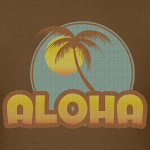Aloha Palm T-Shirts - Men's T-Shirt