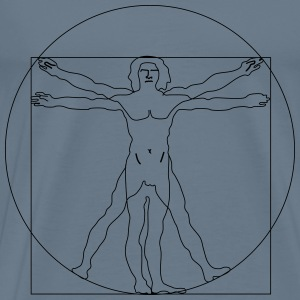 Vitruvian Man - Men's Premium T-Shirt