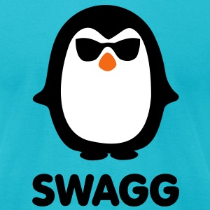 SWAGG pinguin T-Shirts - Men's T-Shirt by American Apparel