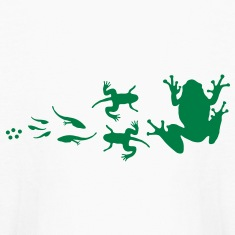 frog_evolution Kids' Shirts