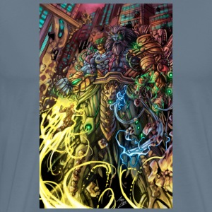 Battle against the goliath - Men's Premium T-Shirt