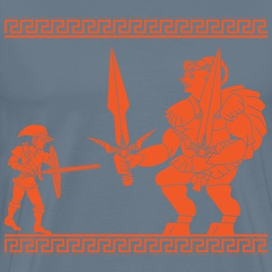 Battle of courage and power - Men's Premium T-Shirt
