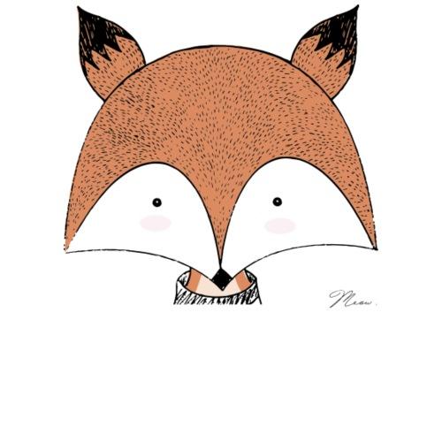 Cute Fox - by MEOW