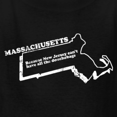 MASSACHUSETTS STATE SLOGAN Kids' Shirts