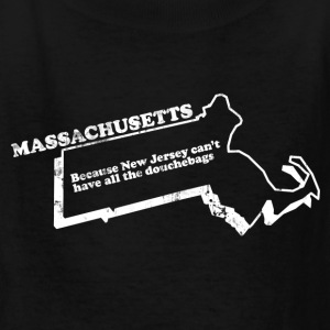 MASSACHUSETTS STATE SLOGAN Kids' Shirts - Kids' T-Shirt