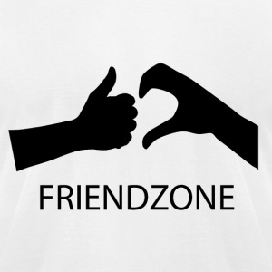 Friendzone - Men's T-Shirt by American Apparel