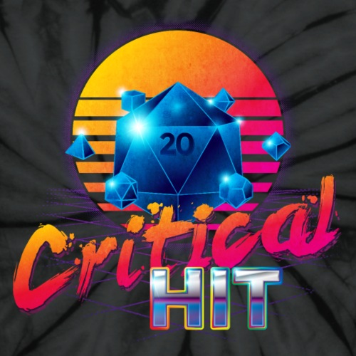 Critical Hit Dungeons Fantasy Outrun Design