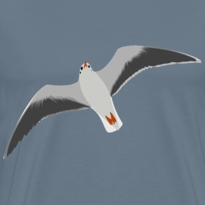 sea gull seagull - Men's Premium T-Shirt