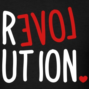 revolution LOVE T-Shirts - Men's T-Shirt