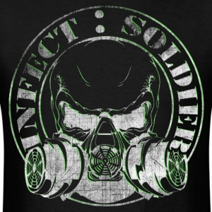 INFECT SOLDIER SKULL SHIRT - Men's T-Shirt