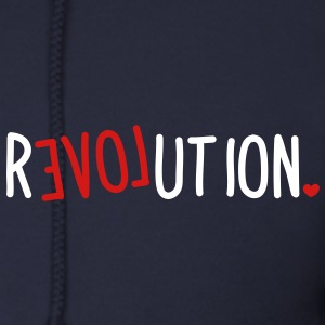 revolution LOVE Zip Hoodies/Jackets - Men's Zip Hoodie