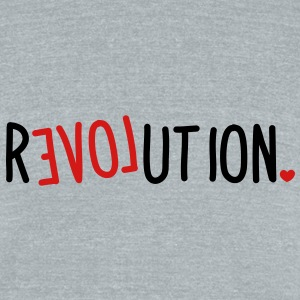 revolution LOVE T-Shirts - Unisex Tri-Blend T-Shirt
