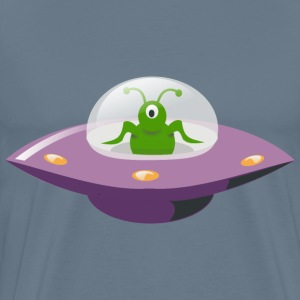 UFO Cartoon - Men's Premium T-Shirt