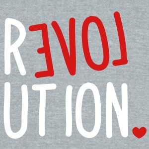 revolution LOVE T-Shirts - Unisex Tri-Blend T-Shirt by American Apparel