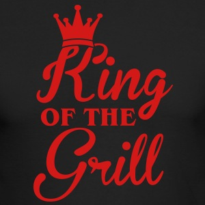 King of the Grill Long Sleeve Shirts - Men's Long Sleeve T-Shirt by Next Level