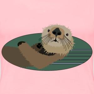Sea otter - Women's Premium T-Shirt