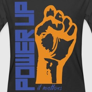 POWER UP - Men's 50/50 T-Shirt