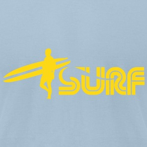 surf T-Shirts - Men's T-Shirt by American Apparel