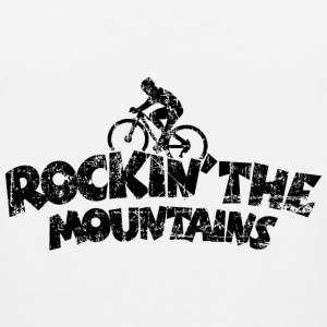 Rockin the Mountains Mountainbike Sportswear - Men's Premium Tank
