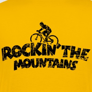 Rockin the Mountains Mountainbike T-Shirts - Men's Premium T-Shirt