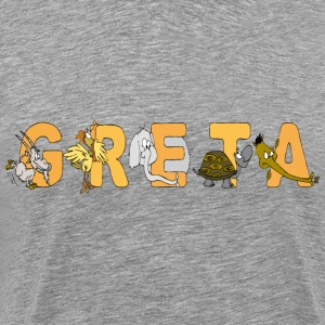 Greta - Men's Premium T-Shirt