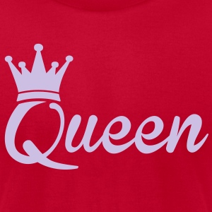 Queen T-Shirts - Men's T-Shirt by American Apparel